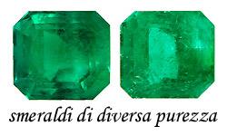 purezza e smeraldi