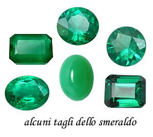 tagli dello smeraldo